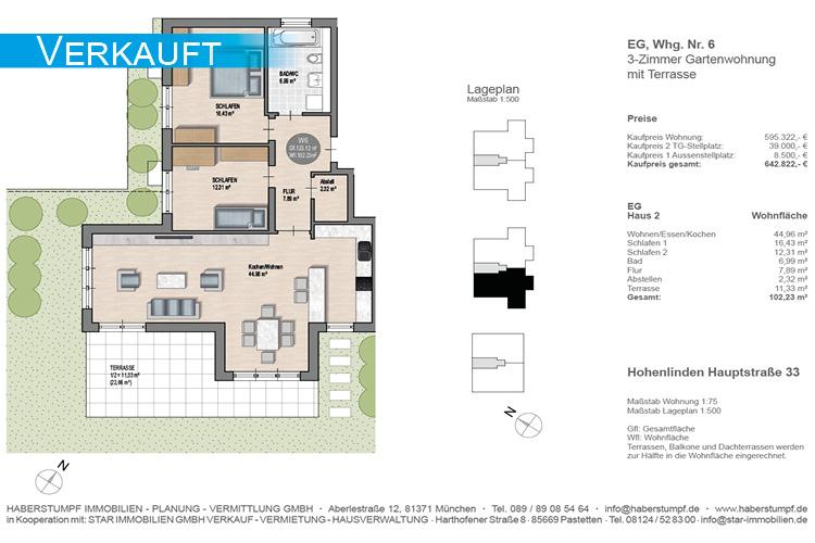 Hohenlinden,Wohnung,Verkauf